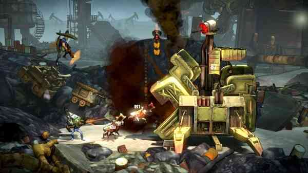 Shoot Many Robots Psn Ps3 Review Cogconnected