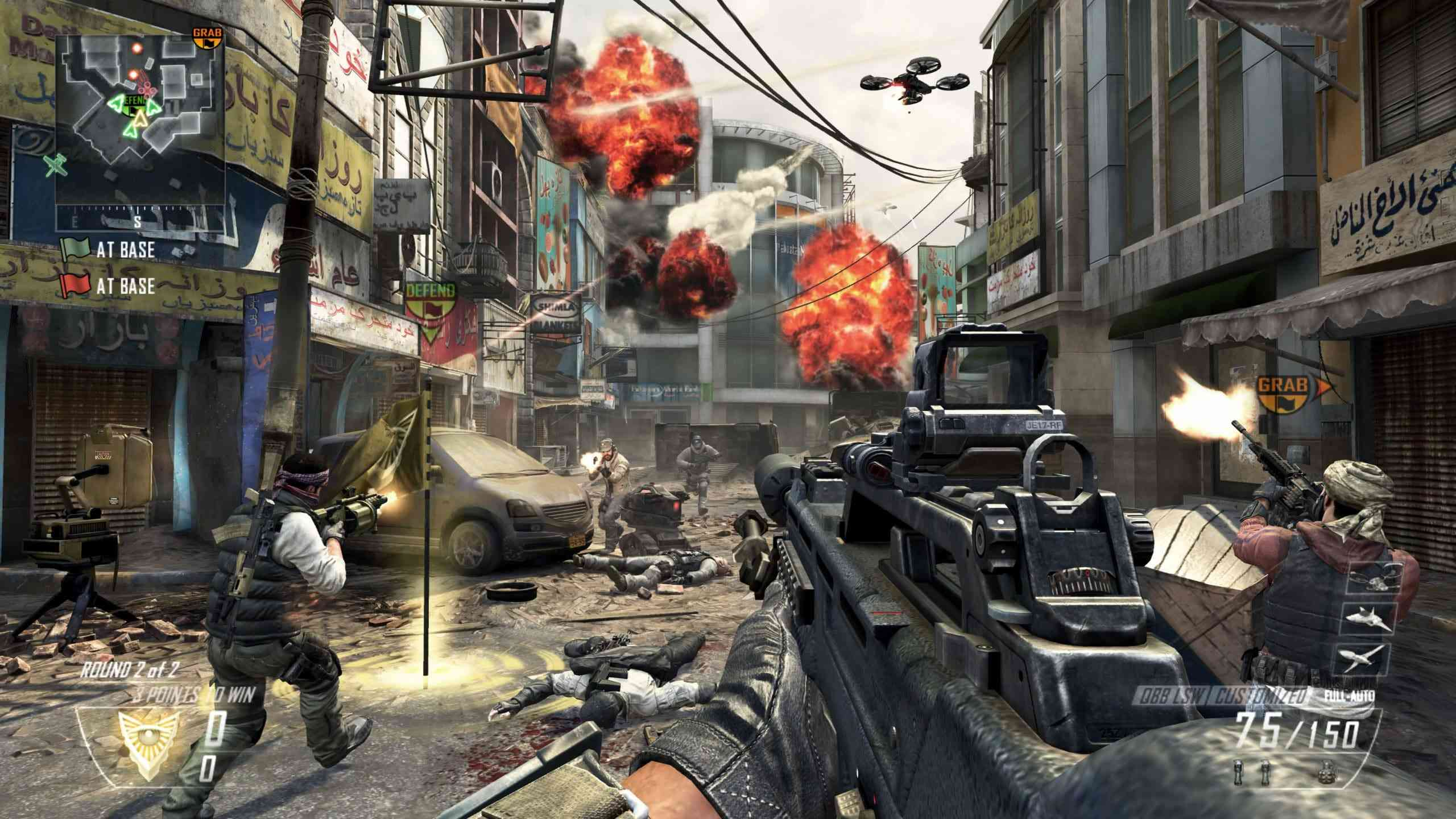 how to turn off graphic content in black ops 2