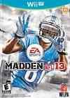 Madden 13 Wii U boxart
