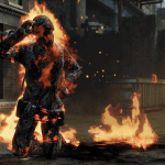 Burning body TLOU MP