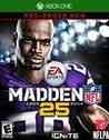 Madden 25 Xbox One Box