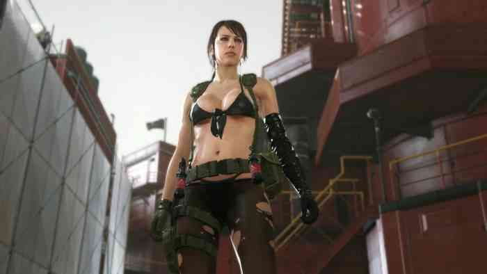 Quiet Metal Gear Solid V