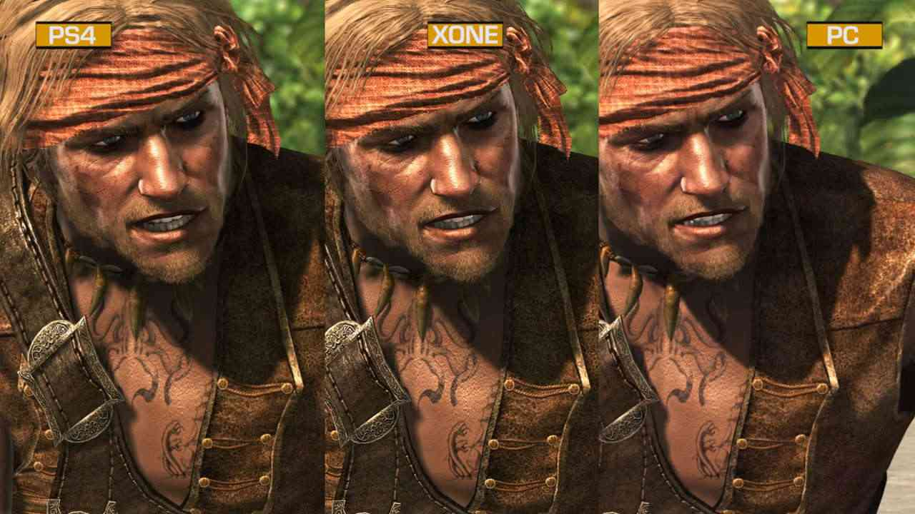 Canadian Online Gamers 187 Ac4 Visual Comparison Ps4 X1 Pc