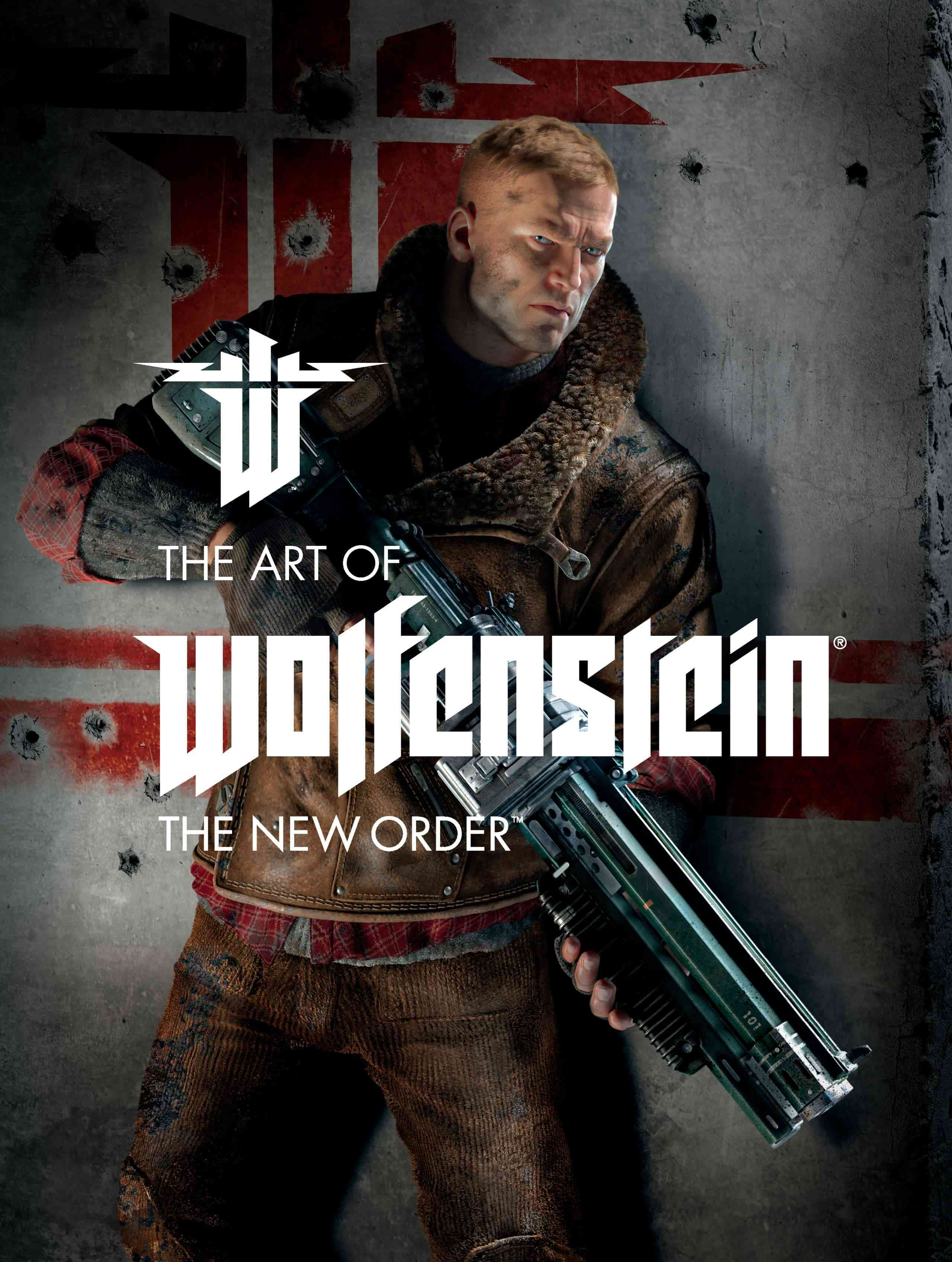 Canadian Online Gamers 187 Cover The Art Of Wolfenstein The New Order