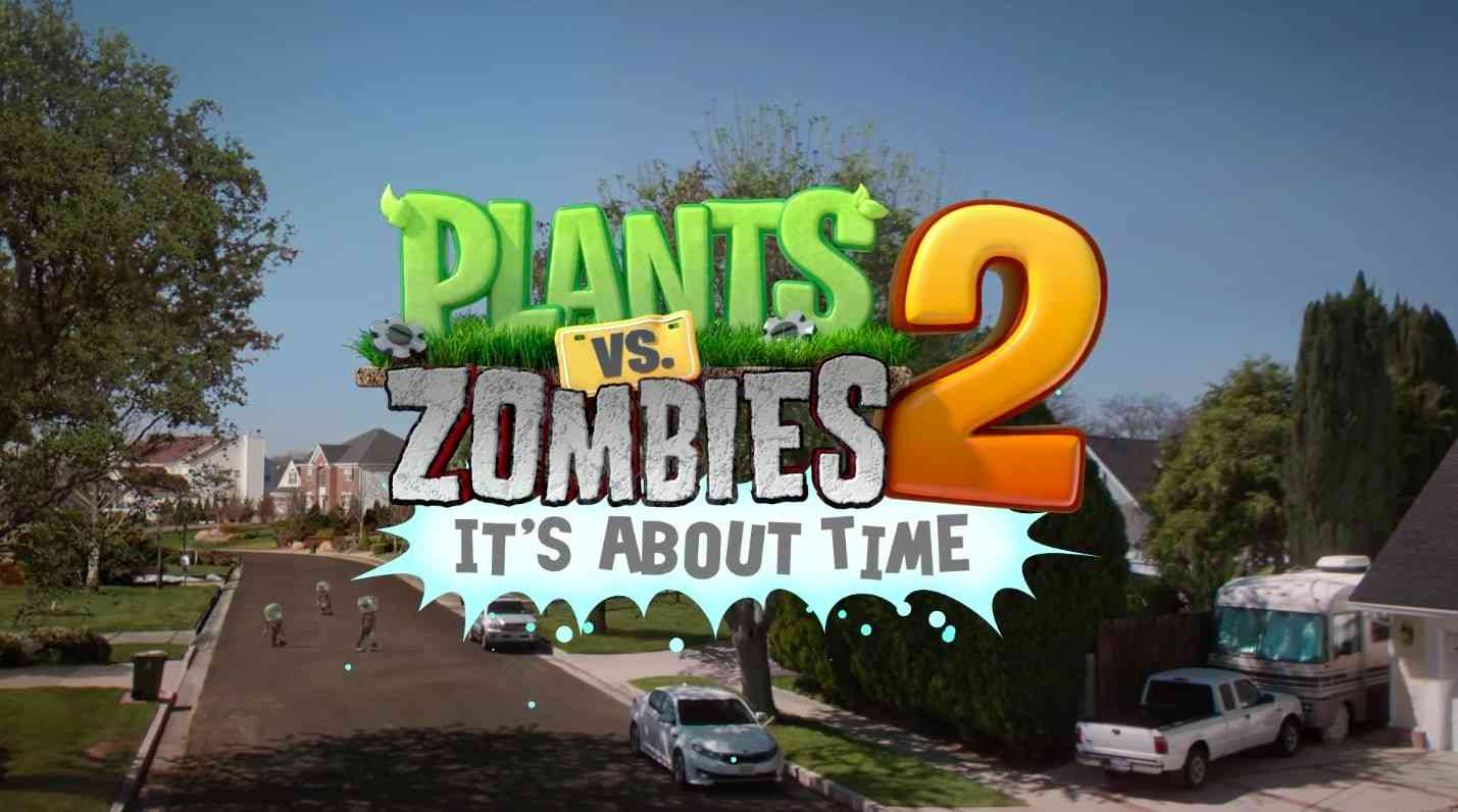 Plants vs. Zombies 2: It's About Time First Expansion Pack Coming March 27th - COGconnected
