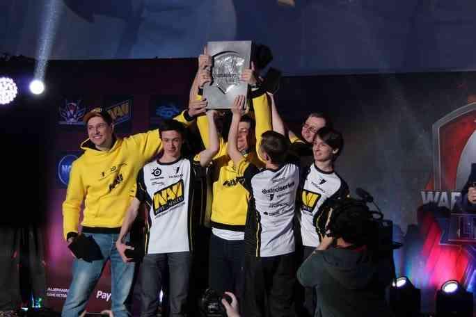 Команда Na'Vi является действующим чемпионом мира по World of Tanks.