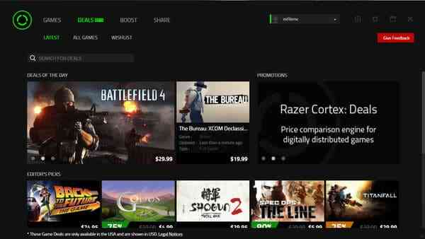 Finding Game Bargains Made Easy with Razer Cortex - COGconnected