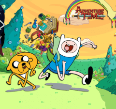 Adventure Time misc featured for ALL GAMES