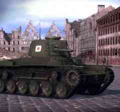 Japenese Tanks in WoT Xbox 360 Edition misc pic