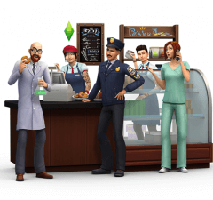 Sims 4 Get to Work expansion pack