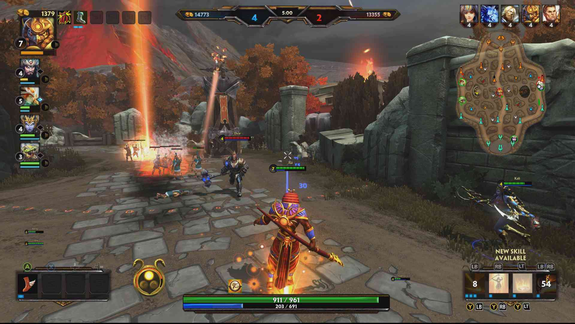 Canadian Online Gamers » SMITE Xbox One misc pic
