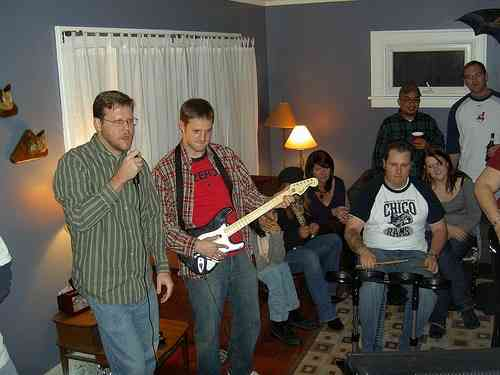 the time is right for rock band vs guitar hero round 2 cogconnected. Black Bedroom Furniture Sets. Home Design Ideas