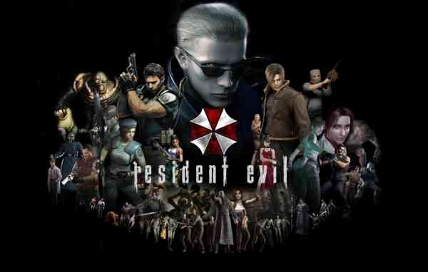 Resident Evil Series key art