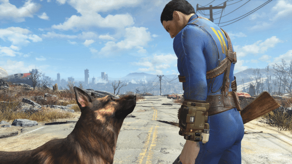 how to call dogmeat fallout 4 ps4