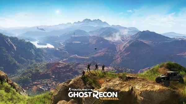 Ghost Recon Wildlands Button