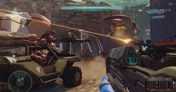 Halo 5 Microsoft req pack