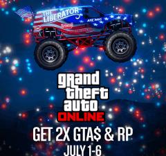 GTA double xp