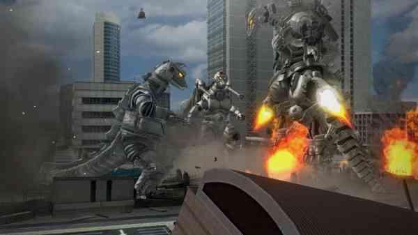 Mechagodzilla videogame screenshot