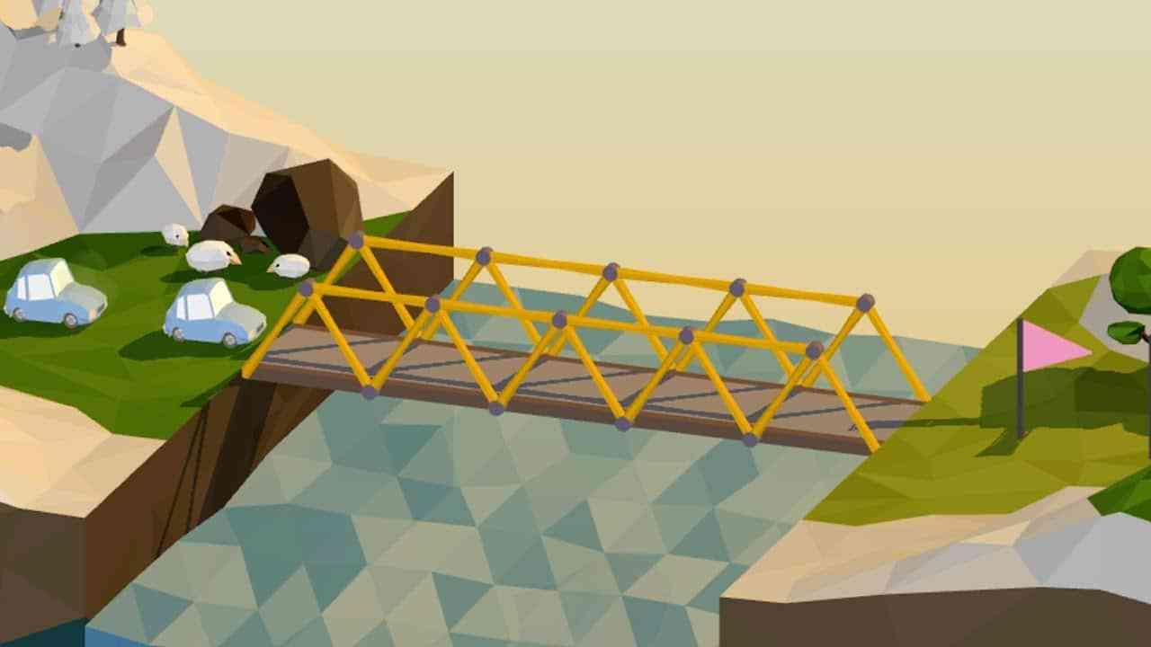 Bridge Building Game Linux