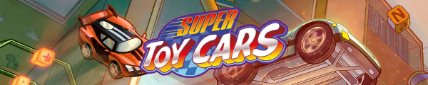 Super Toy Cars Banner