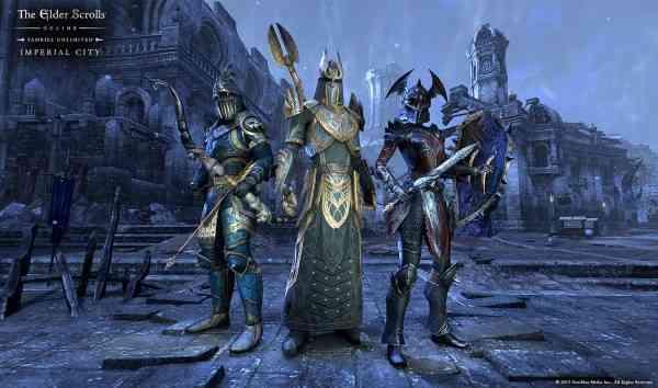 Elder Scrolls Imperial City Screen 1