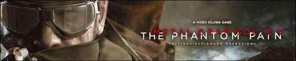 Metal Gear Solid V The Phantom Pain Banner