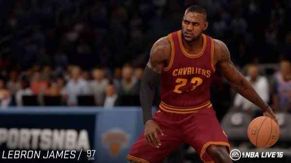 NBA Live 16 Screen 5
