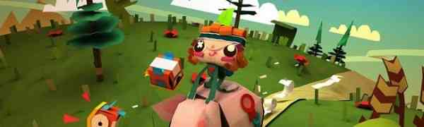 Tearaway unfolded Banner