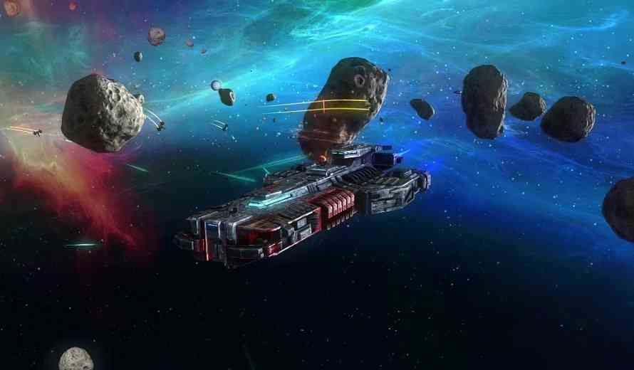 rebel galaxy review introducing capitol ship broadside battles   space game genre