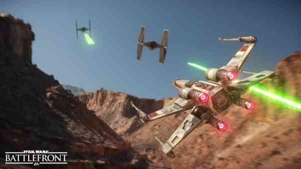 Star Wars Battlefront Screen 2