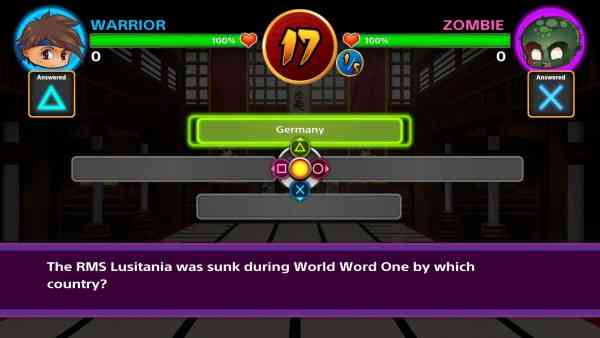 Battle Trivia Knockout Screen 2