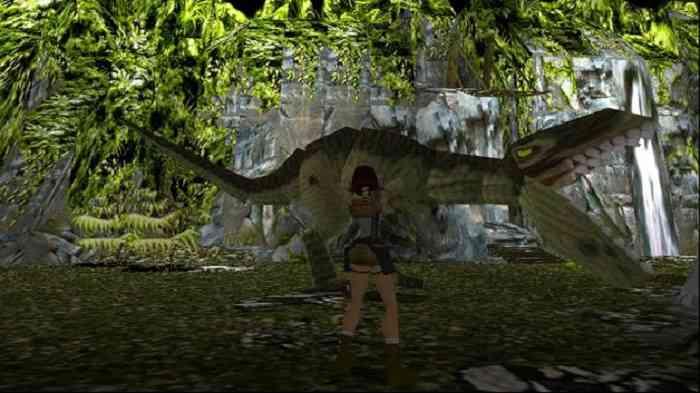 Lara vs Trex