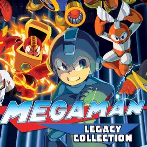 Megaman Legacy Collection featured (old and new)