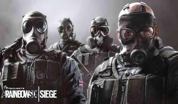 Rainbow Six Siege Characters