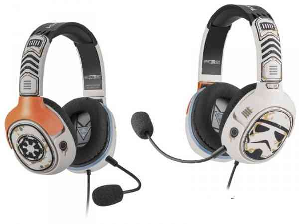 Star Wars-Themed Sandtrooper and X-Wing Pilot Gaming Headsets Available Now