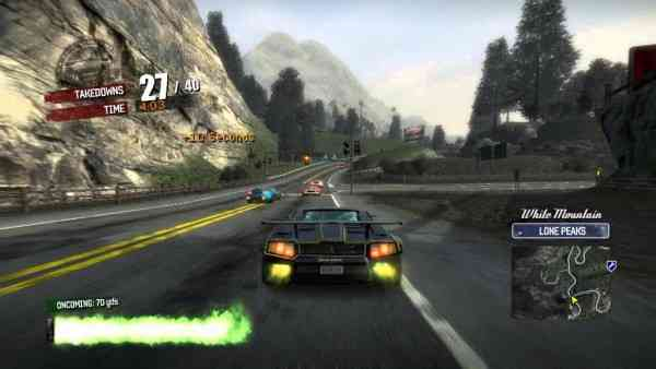 Top 5 Backwards Burnout Paradise