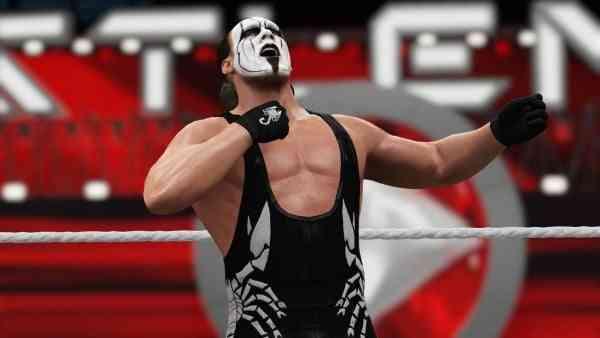 WWE 16 Screen 1