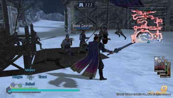 Dynasty Warriors Vita Screen