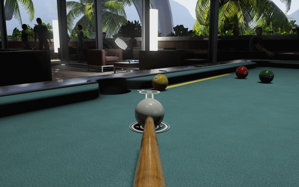 Pool Nation FX Screen