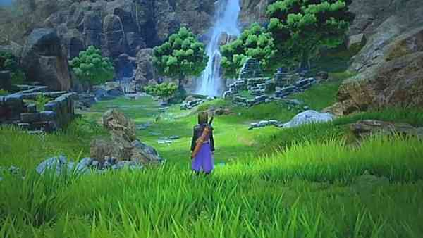 Playing Dragon Quest XI