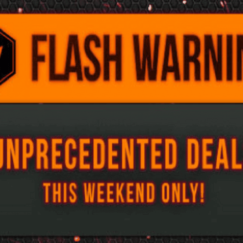 december psn flash sale banner