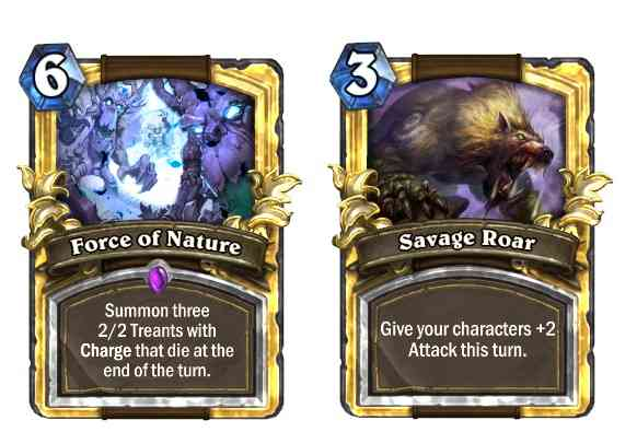 Force of Nature and Savage Roar