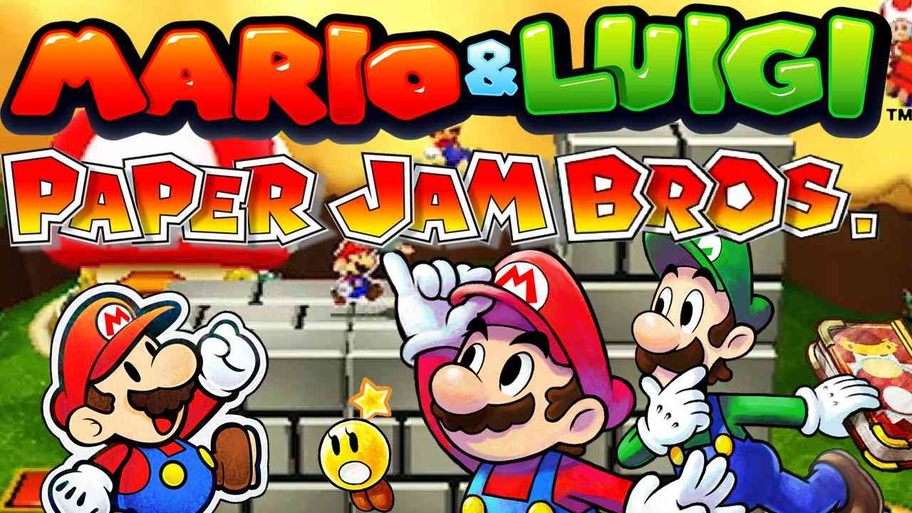 Mario Amp Luigi Paper Jam Review Finally A Mario Rpg That