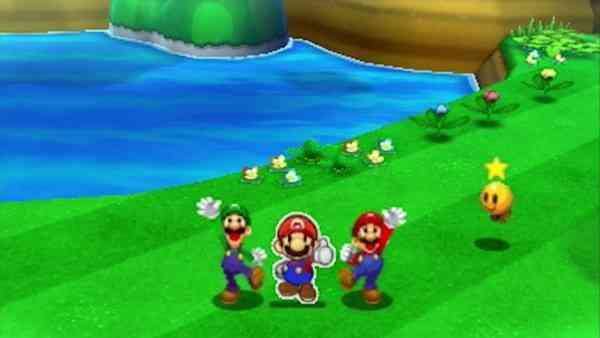 Mario & Luigi Paper Jam Screen 5