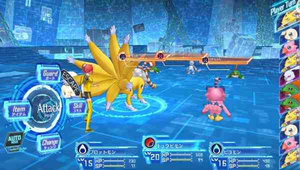 Digimon Story Cyber Sleuth Screen 3