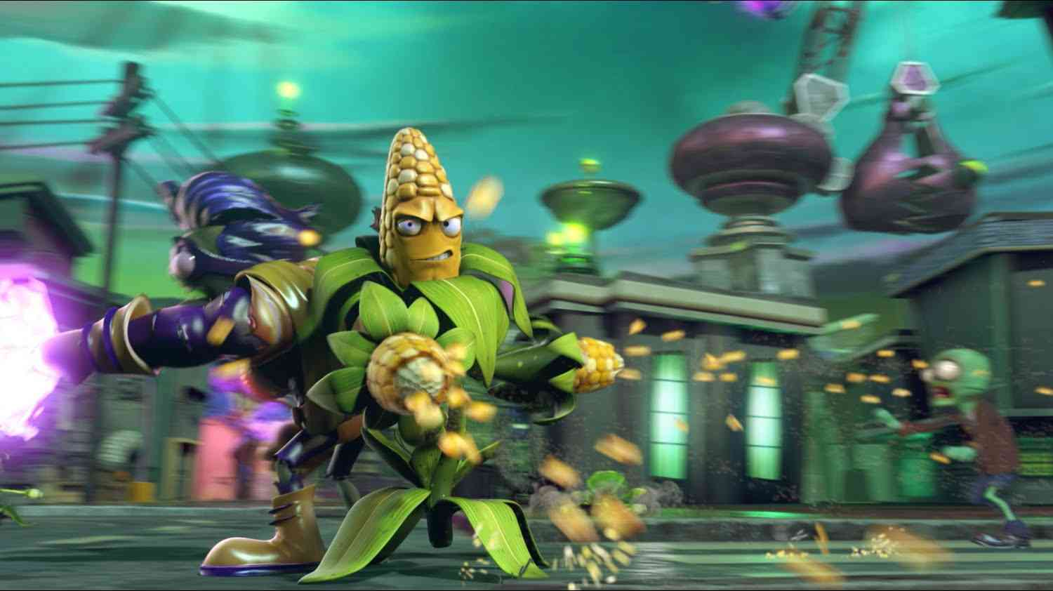 Plants vs. Zombies Garden Warfare 2 Update Includes New