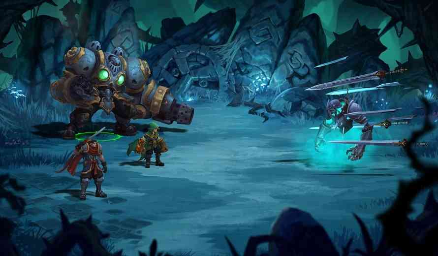 Badass RPG 'Battle Chasers: Nightwar' Coming to PC, PS4 and Xbox One After Successful Kickstarter