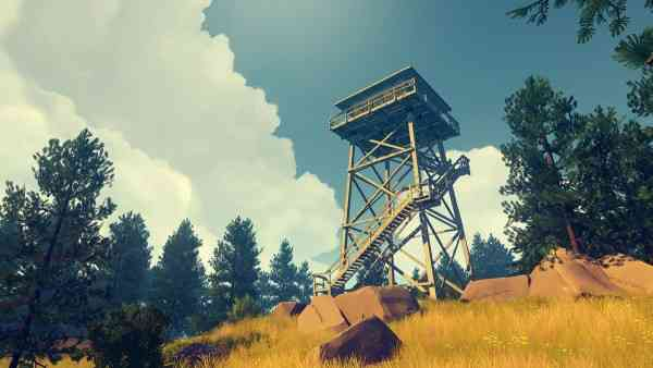 Top 20 Games of 2016 firewatch tower