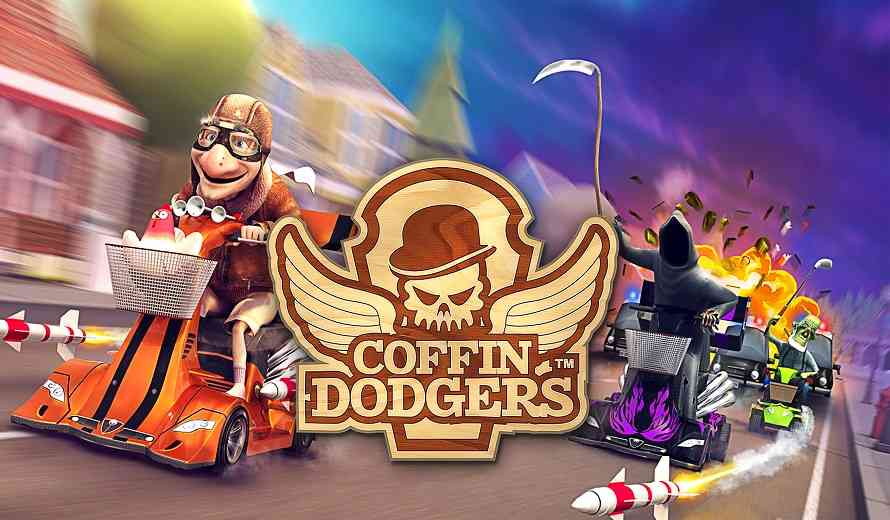 Geriatric Comedic Kart Racer Coffin Dodgers Arrives On Xbox One