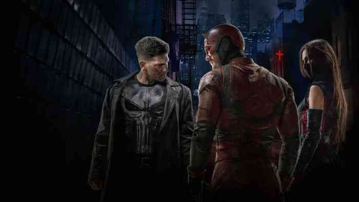 Punisher Spin Off top screen